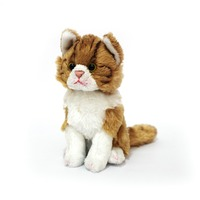 Cat: Tilda Junior Sitting Orange Tabby 15Cm