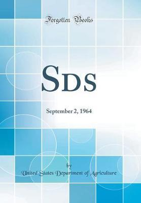 Sds by United States Department of Agriculture
