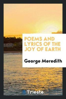 Poems and Lyrics of the Joy of Earth image
