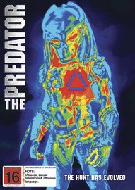 The Predator (2018) on DVD