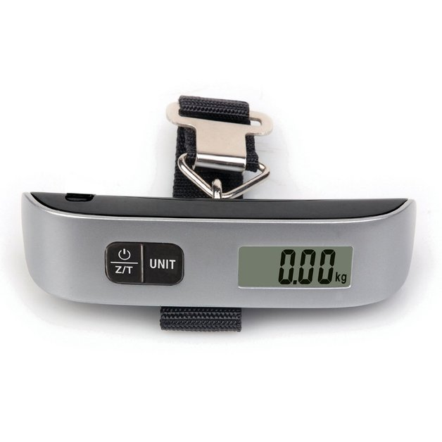 50kg Electronic Luggage Scale with Thermometer