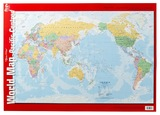 Gillian Miles - World Map - Wall Chart