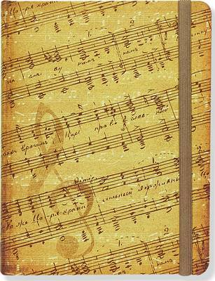 Music Journal (incl staffed & lined pages)