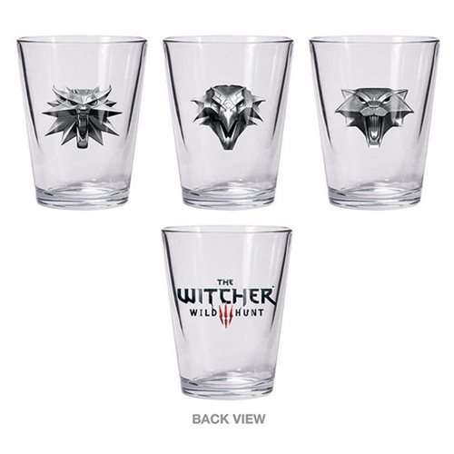 The Witcher 3: The Wild Hunt Shot Glass Set