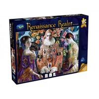 Holdson: 1000 Piece Puzzle - Renaissance Realm (The Game)