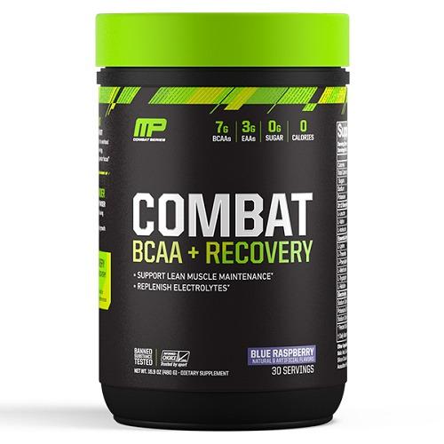 MusclePharm Combat BCAA+Recovery - Blue Raspberry (30 Serves)