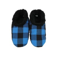 Slumbies Blue/Black Men's Plaid (L)