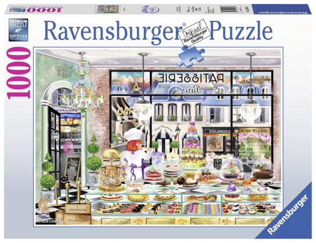 Ravensburger: 1,000 Piece Puzzle - Wanderlust Good Morning Paris