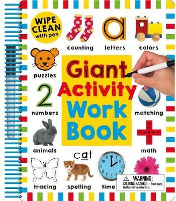 Wipe Clean: Giant Activity Workbook by Roger Priddy
