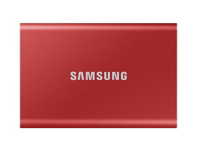 1TB Samsung Portable SSD T7 Red