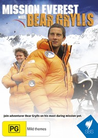 Mission Everest with Bear Grylls on DVD