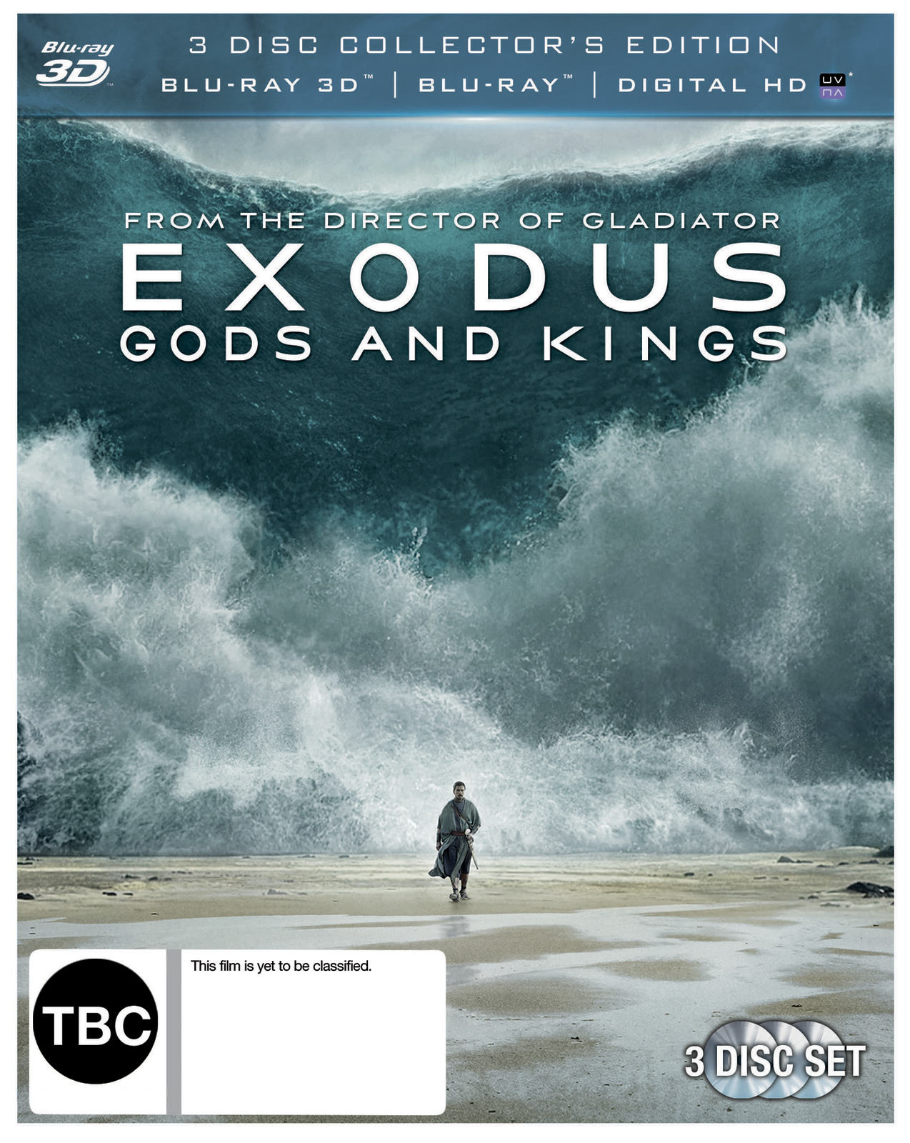 Exodus: Gods & Kings on Blu-ray, 3D Blu-ray image