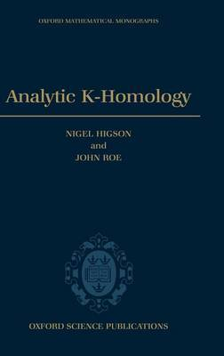 Analytic K-Homology by Nigel Higson image