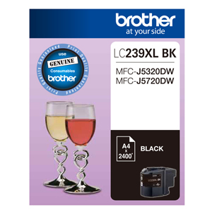 Brother LC-239XLBK Super High Yield Ink Cartridge (Black)