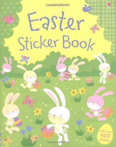 Easter Sticker Book by Fiona Watt image