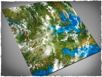 DeepCut Studio Orbital Earth PVC Mat (4x4)