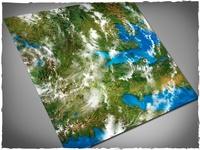 DeepCut Studio Orbital Earth PVC Mat (4x4)