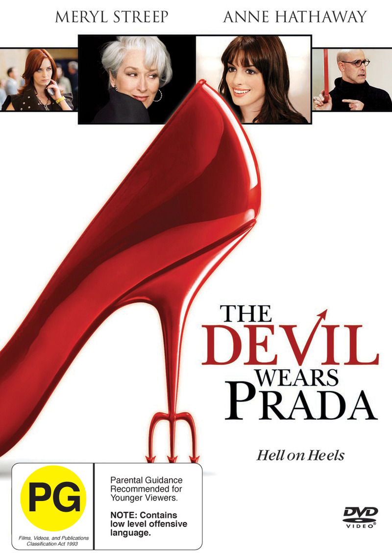 The Devil Wears Prada on DVD image