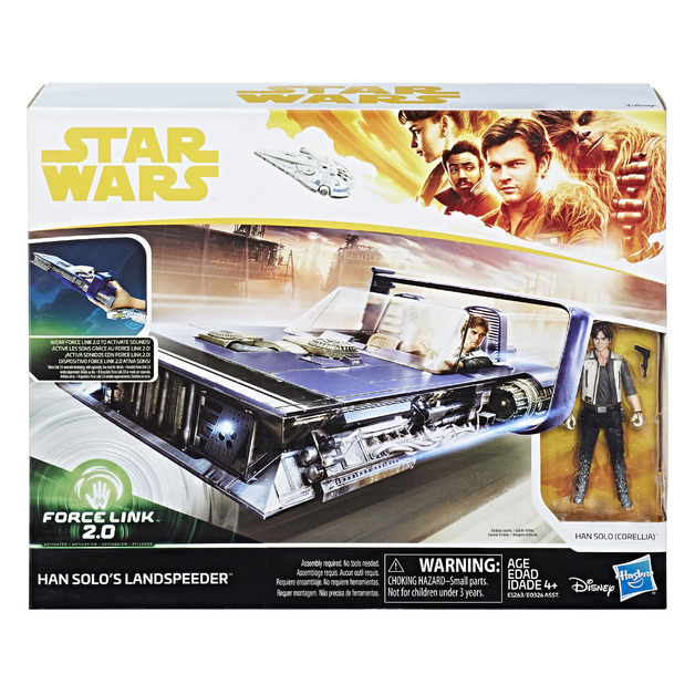Star Wars: Force Link 2.0 - Han Solo (Corellia) and Land Speeder
