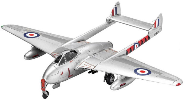 Revell 1/72 Vampire F. Mk.3 Scale Model Kit