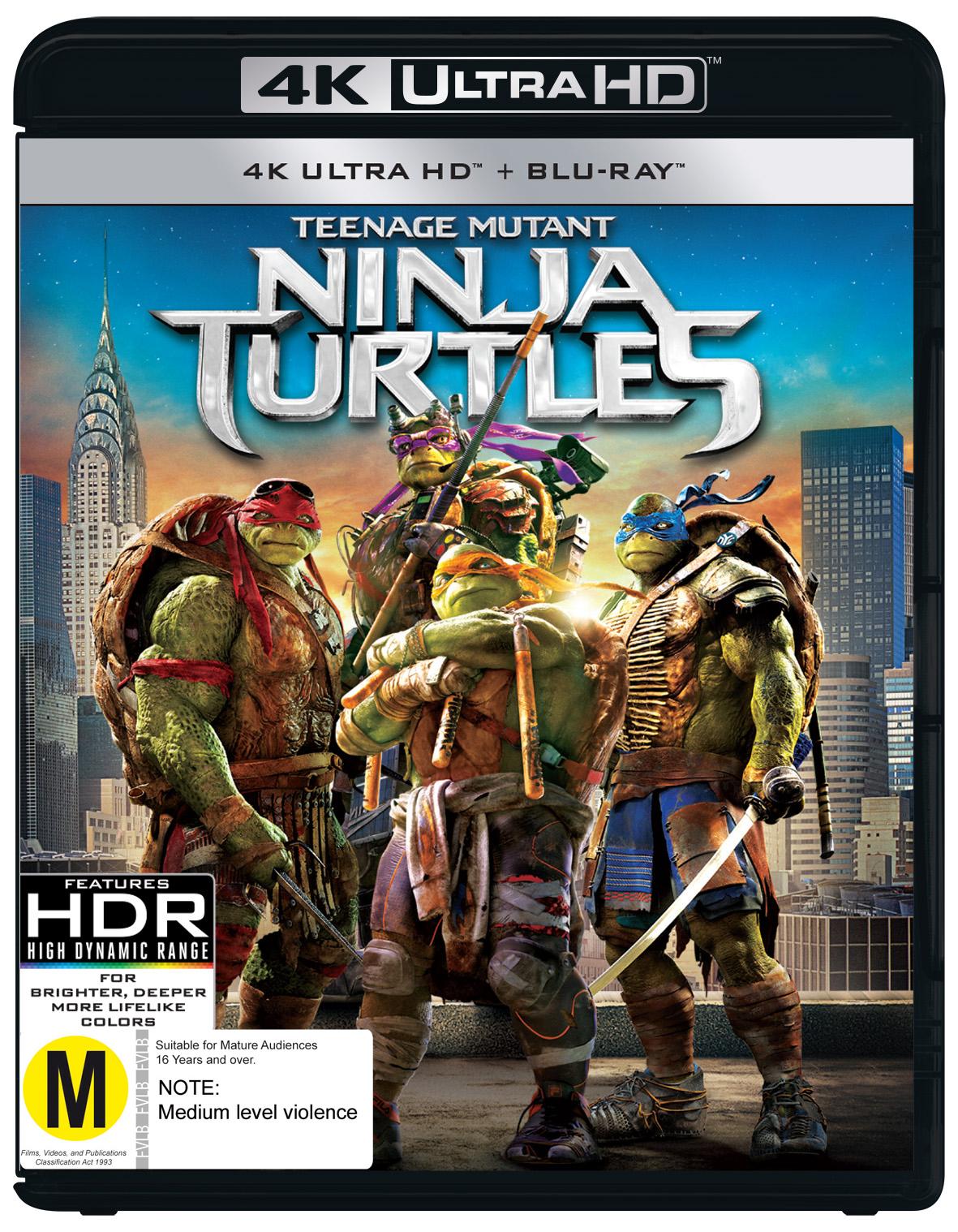 Teenage Mutant Ninja Turtles 2014 Uhd Blu Ray In Stock Buy Now At Mighty Ape Nz
