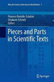 Pieces and Parts in Scientific Texts