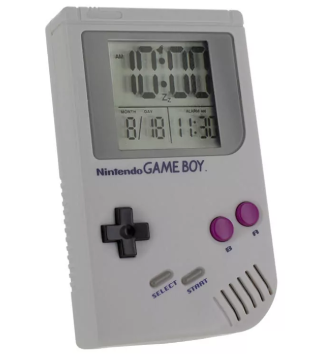 Gameboy Alarm Clock V2
