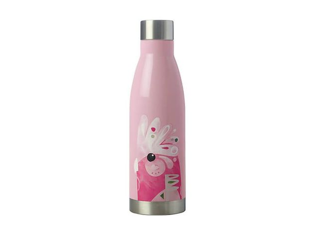 Maxwell & Williams: Pete Cromer Double Wall Insulated Bottle - Galah (500ml)