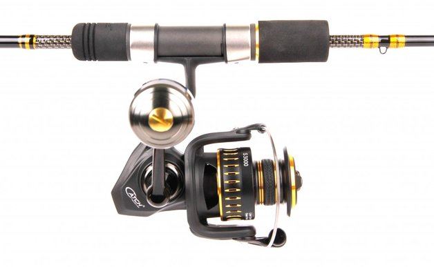 Catch Pro Series Kensai 150g Spin Rod with SP3000 Spin Reel Combo