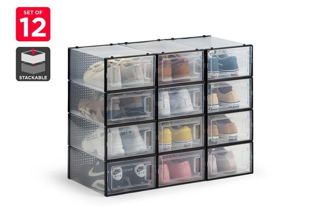 Ovela: Set of 12 Click Shoe Box