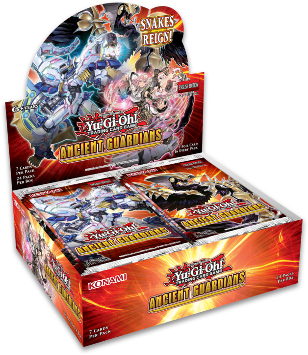 Yu-Gi-Oh! Ancient Guardians Booster Box