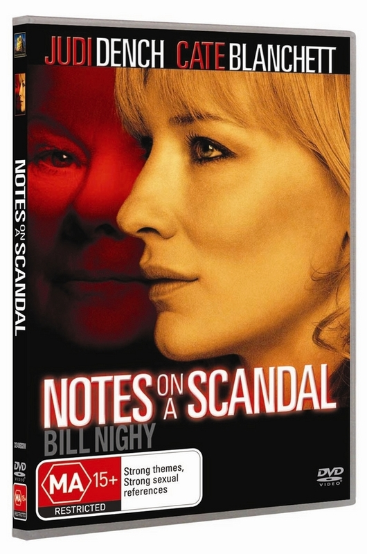 Notes On A Scandal on DVD