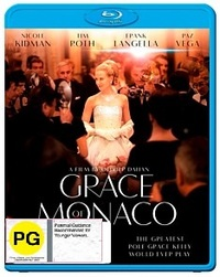 Grace of Monaco on Blu-ray
