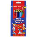 Texta Maxi Triangular Colour Pencil
