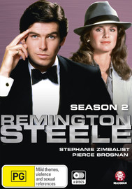 Remington Steele: Season 2 on DVD