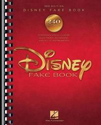 The Disney Fake Book image