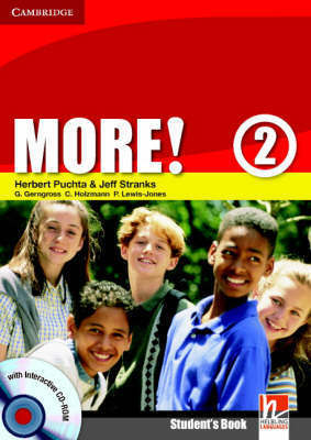 More! Level 2 Student's Book with Interactive CD-ROM: Level 2 by Christian Holzmann