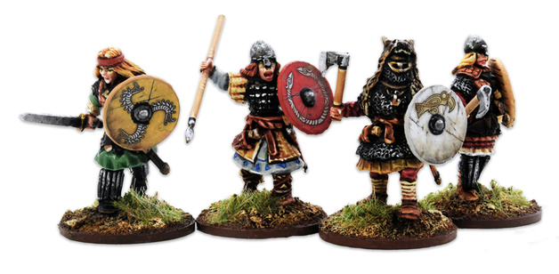 Age of Magic Shieldmaiden Hearthguard