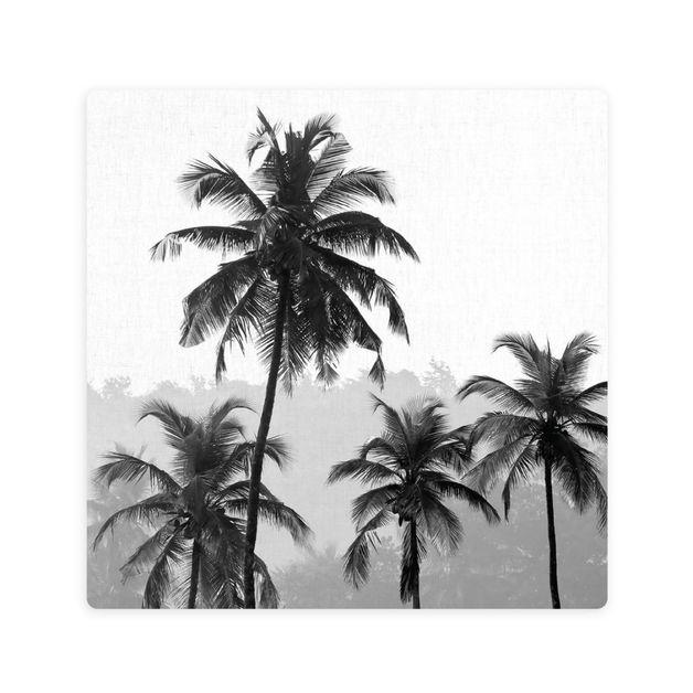Splosh: Tranquil Palm Forest Ceramic Coaster