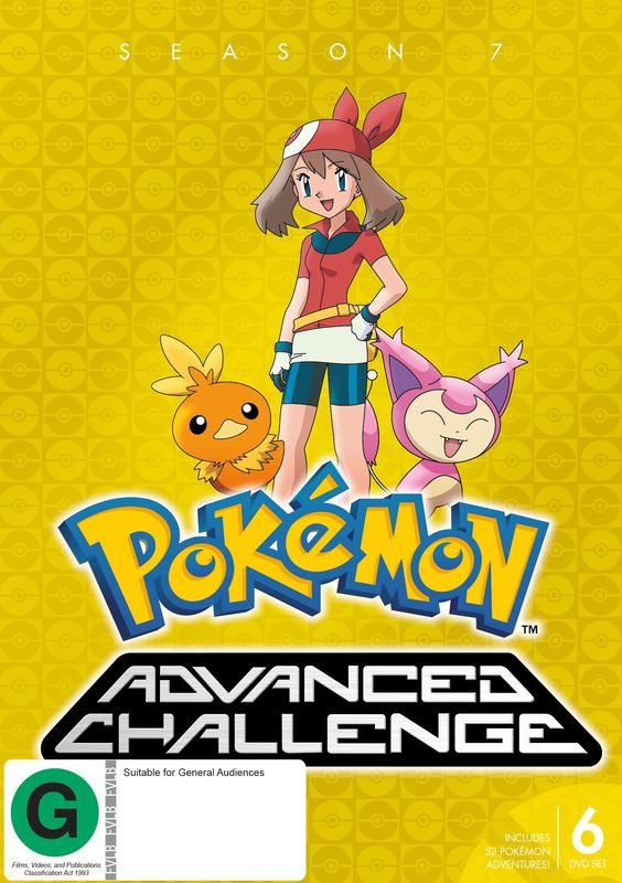 Pokemon Advanced Challenge - Season 7 on DVD