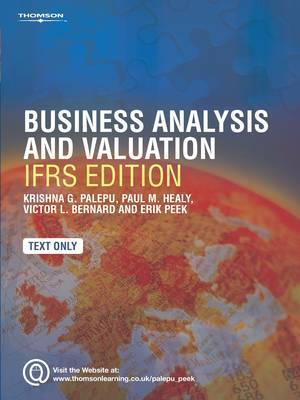 Business Analysis and Valuation: Using Financial Statements: Text Only by Krishna G. Palepu image