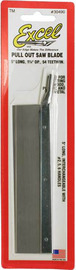 "Excel Very Fine Pull Out Razor Saw Blade (1 1/4""x5"")"
