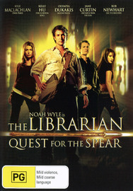 The Librarian - Quest For The Spear on DVD image