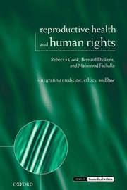 Reproductive Health and Human Rights by Rebecca J Cook image