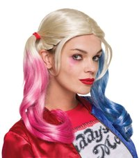 Harley Quinn Suicide Squad Costume Wig
