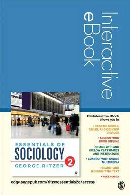 Essentials of Sociology Interactive eBook