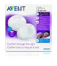Avent Disposable Breast Pads - Night (20pk)