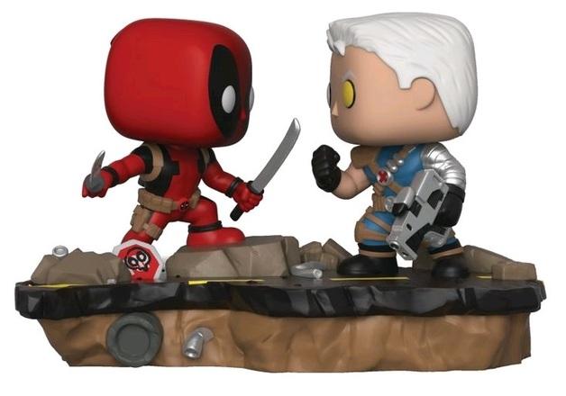 Marvel: Deadpool vs Cable - Pop! Vinyl Diorama