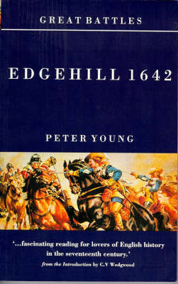 Great Battles: Edgehill 1642 by Peter Young image