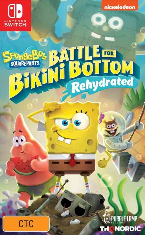 SpongeBob Squarepants: Battle for Bikini Bottom Rehydrated for Switch